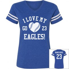 Softball or Baseball Mom Shirts With Custom Text