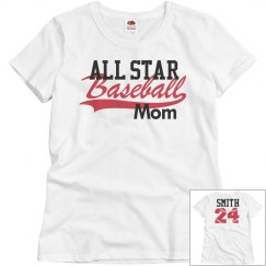 All Star Baseball Mom