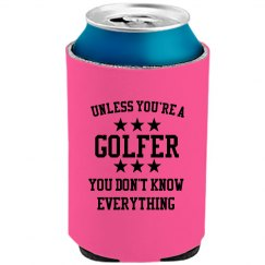 Golfers know all