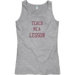 Teach Me a Lesson Tank