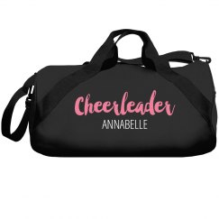 Personalized cheerleaders bag