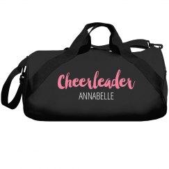 Personalized cheerleaders bag