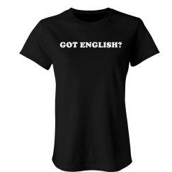 Got English?