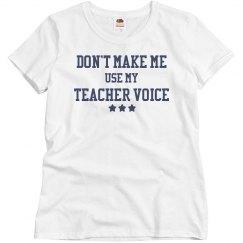 My Teacher Voice