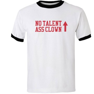 ass clown no talent