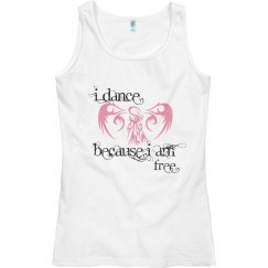 I dance because I am free