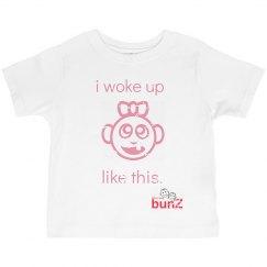 Toddler Girl Woke Up Tee