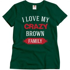 Crazy brown family