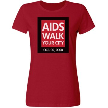 AIDS Awareness Walk Logo
