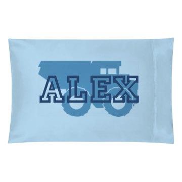 Alex Truck Pillow Case