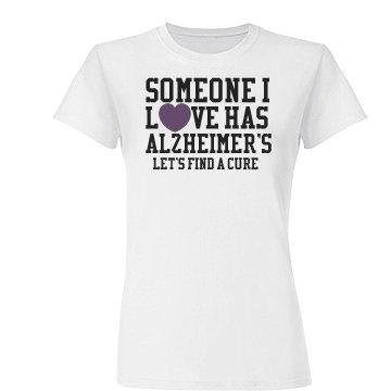 Alzheimers Heart Tee