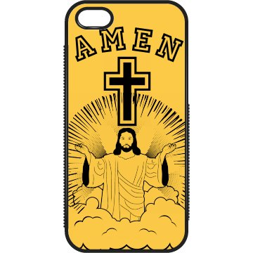 Amen Cross iPhone Case
