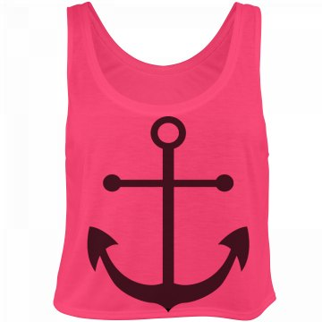 Anchor Crop Top