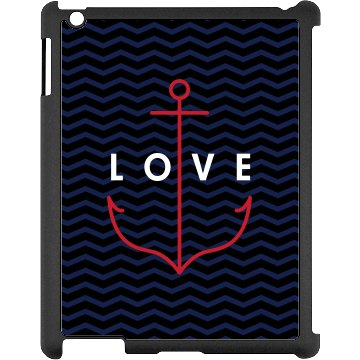 Anchor Love iPad Case