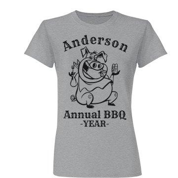 Anderson Annual BBQ T