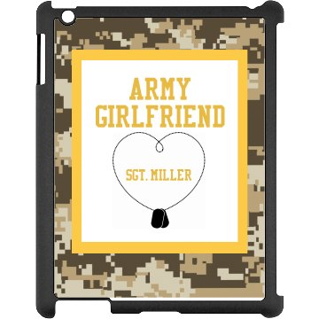 Army Girlfriend iPad