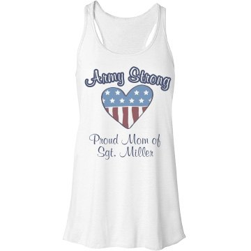Army Strong Mom Tank