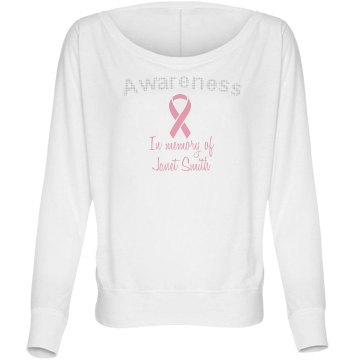 Awareness Rhinestone Tee