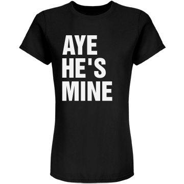 Aye He's Mine Juniors