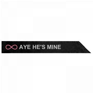 Aye Mine Rhinestone