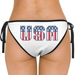 All American USA Swimsuit Bottom