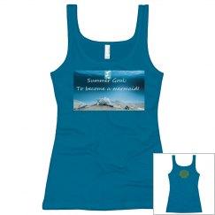 Summer Mermaid Goal Tank