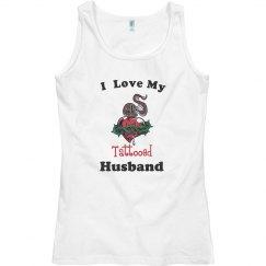 love tattooed husband