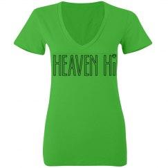 Hvn Hi V-  lovely bright colors