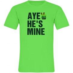 Aye He's Mine Rainbow Tee