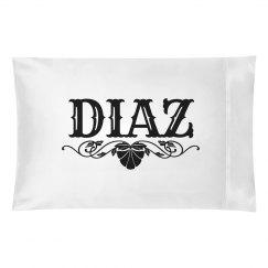 DIAZ. Pillow case