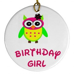 Cute Owl  Ornament
