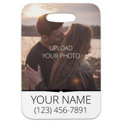 Custom Couple Photo Luggage Gift