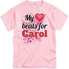 My heart beats for Carol
