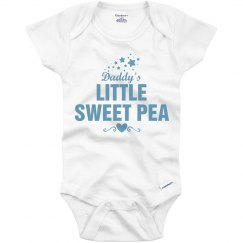 Daddy's little Sweet Pea