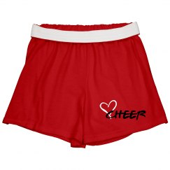 Cheer Shorts Red