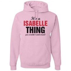 It's a Isabelle thing