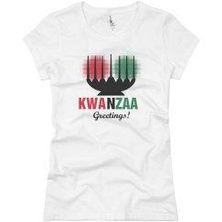 Kwanzaa Greetings Tee