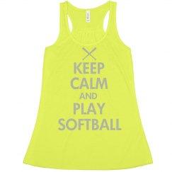 Keep Calm Softball