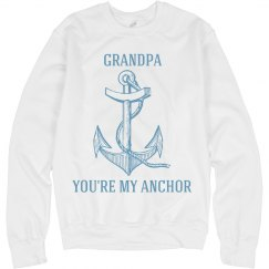 Grandpa is my anchor