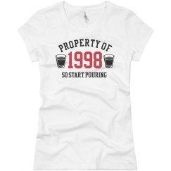 21 Birth Property of 1992