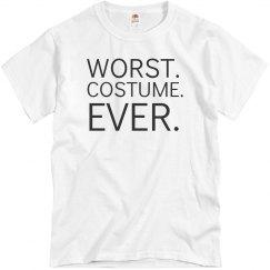 Worst costume ever!
