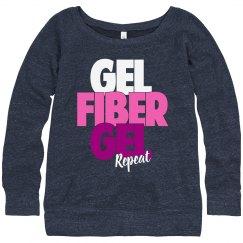 Gel, Fiber, Gel, Repeat