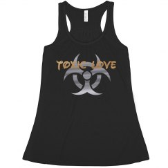ToxicLove - biohazard girls tank