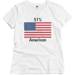 51% American