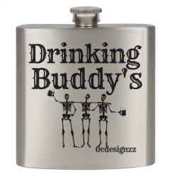 Drinking Buddy's  Flask