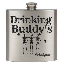 Drinking Buddy's  Flask