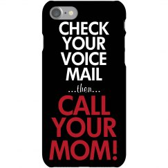 Check Voice Mail Call Mom