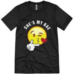 She's My Bae - Emoji