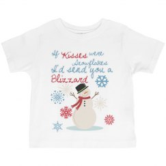 If Snowflakes were kisses
