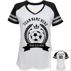 Women Soccer Team Custom T-Shirt